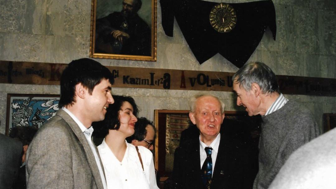 Z panem Stanisławem Cieślawskim