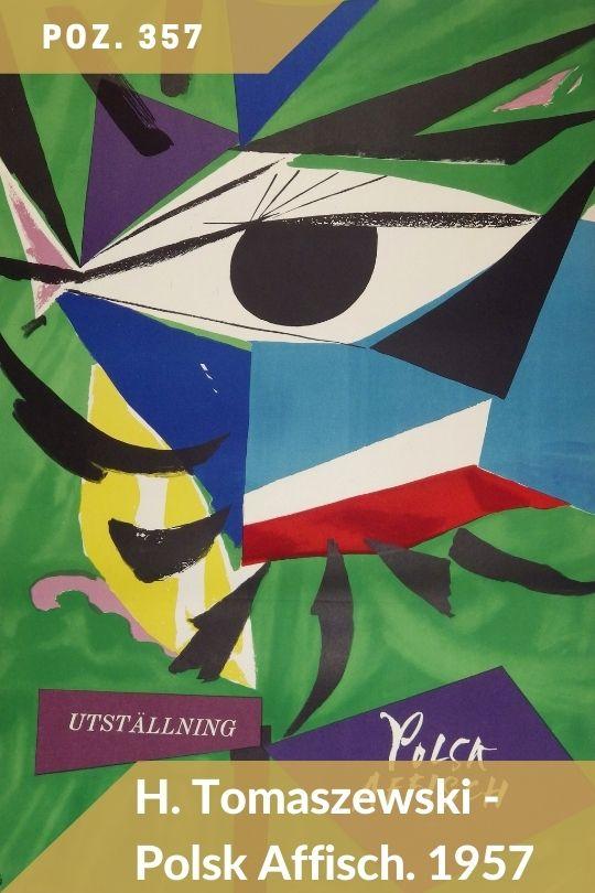 Aukcja 133 - Poz. 357 - Henryk Tomaszewski - Unstallning Polsk Affisch